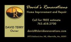 Davids Renovations Logo