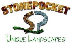 Stonepocket Unique Landscapes Logo