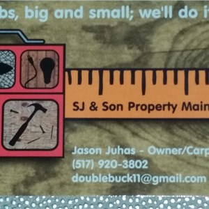 Sj & Son Property Maintenance Cover Photo