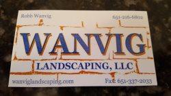 Wanvig Landscaping, LLC Logo