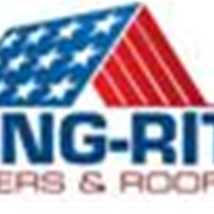 Hung-Rite Gutters & Roofing Logo