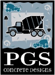 PGS Concrete Designs, LLC Logo