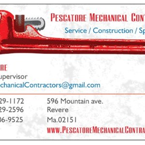 Pescatore Mechanical Contractors Logo