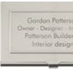 Patterson Builders and Interior Design Logo