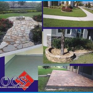 Orlando Concrete Solutions Logo