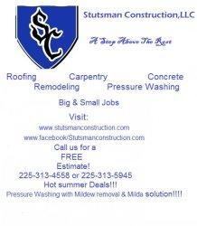 Stutsman Construction, LLC Logo