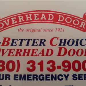 A Better ChoiceOverhead Garage Door Service Logo