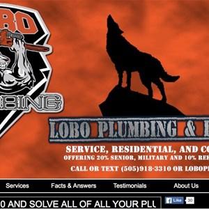 Lobo Plumbing / Heating / Gas Specialist Logo