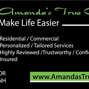 Amandas True Clean Logo