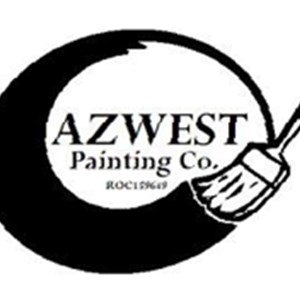 AZ West Painting Logo