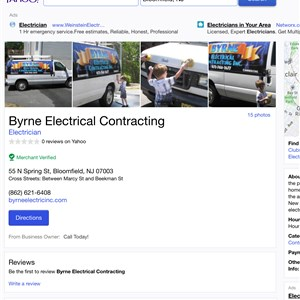 Byrne Electrical Contracting Logo