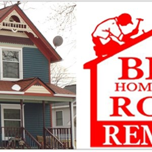 Brown Home Improvement Roofing & Remodeling Logo