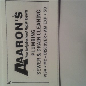 A-aarons Plumbing, Heating, Cooling, And Sewer Drain Cleaning Logo