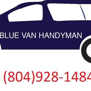 Blue Van Handyman Services Logo