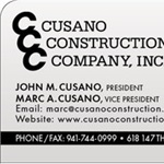 Cusano Construction Company Inc. Logo