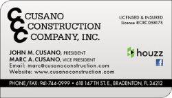 Cusano Construction Company Inc. Logo