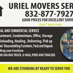 Uriel Movers Services Cover Photo