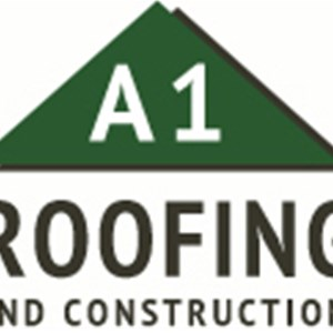 A-1 Roofing & Construction Logo