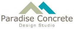 Paradise Concrete Design Studio Logo