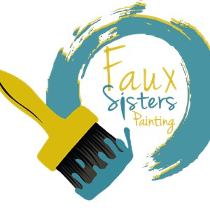 Faux Sisters Painting Logo
