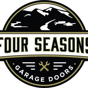 Wooden Garage Door Logo