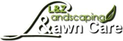 L and Z Lawn Care & Landscaping Logo