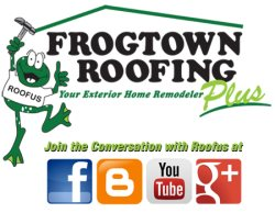 Frogtown Roofing, LLC Logo