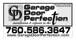 Garage Door Perfection Logo