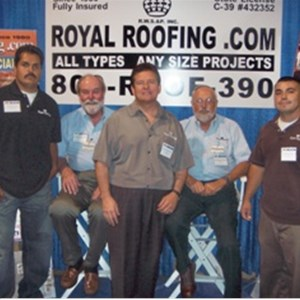 Royal Roofing, Solar & Insulation Company Logo