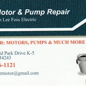 Bobs Motor & Pump mRepair Logo