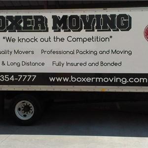 Boxer Moving & Storage Logo