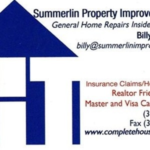 Summerlins Property Improvement Llc. Logo