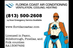 Florida Coast Air Conditioning Logo