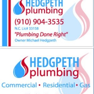 Hedgpeth plumbing company Cover Photo