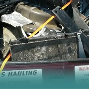 Blans Hauling Logo