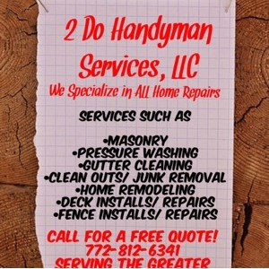 2 Do Handyman Services, LLC Logo