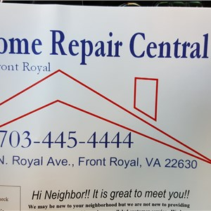 Home Repair Central of Front Royal Logo