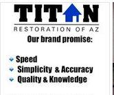 Titan Restoration of Arizona Logo