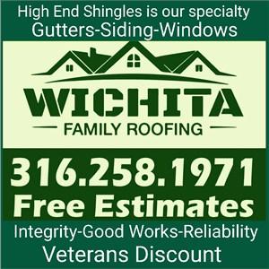 Wichita Family Roofing Logo