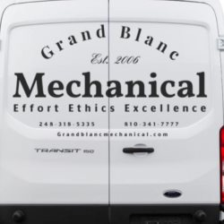 Grand Blanc Mechanical Logo