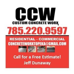 Custom Concrete Worx Logo