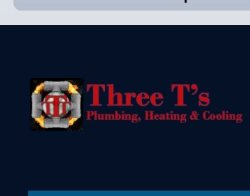 Three Ts Plumbing Logo