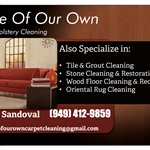 League of our own Carpet and Upholstery Cleaning Logo