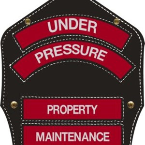 Under Pressure Power Washing Logo