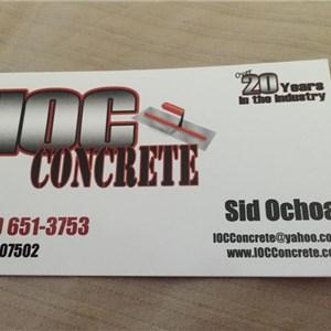 Ioc Concrete Logo