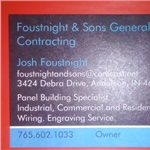 Foustnight And Sons Logo