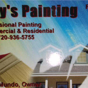 Rudys Painting Logo