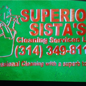 Superior Sistas Cleaning Services LLC Logo