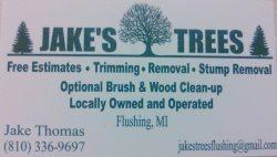 Jakes Trees Logo