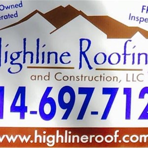 Highline Roofing & Constr Logo